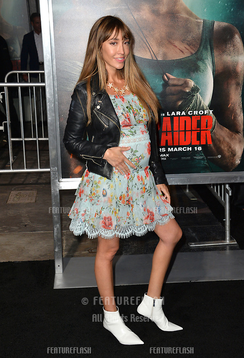Fernanda Romero at the US premiere for &quot;Tomb Raider&quot; at the TCL Chinese Theatre, Los Angeles, USA 12 March 2018<br /> Picture: Paul Smith/Featureflash/SilverHub 0208 004 5359 sales@silverhubmedia.com