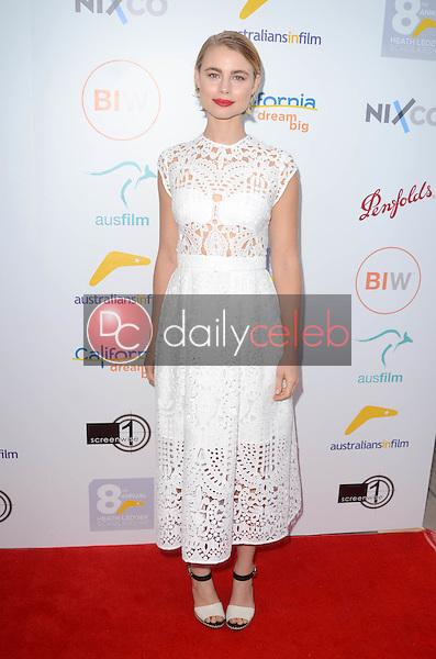 Lucy Fry<br /> at the 2016 Australians In Film Heath Ledger Scholarship Dinner, Mr. C, Beverly Hills, CA 06-01-16<br /> David Edwards/Dailyceleb.com 818-249-4998