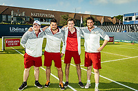 Rosmalen, Netherlands, 15 June, 2019, Tennis, Libema Open, groundsmen<br /> Photo: Henk Koster/tennisimages.com