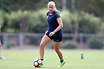 CARY, NC - AUGUST 24: Makenzy Doniak. The North Carolina Courage held a training session on August 24, 2017, at WakeMed Soccer Park Field 7 in Cary, NC.