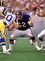 Chicago Bears Mark Bortz  (62) during a game from his 1989 season with the Chicago Bears. Mark Bortz played 12 season all with the Chicago Bears and was a 2-time Pro Bowler.