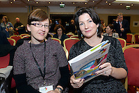 Dr Sophie Price and Kelly O'Sullivan, Tralee Institute pictured at the National Tourism Forum in The Muckross Park Hotel, Killarney at the weekend. <br /> Over 200 delegates from all over Ireland attend the inaugural event which was addressed by national and international speakers.<br /> Photo: Don MacMonagle<br /> <br /> Repro free photo