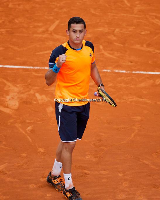 02-06-13, Tennis, France, Paris, Roland Garros,  Nicolas Almagro