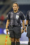 16 October 2014: Assistant referee Marlene Duffy (USA). The Mexico Women's National Team played the Costa Rica Women's National Team at Sporting Park in Kansas City, Kansas in a 2014 CONCACAF Women's Championship Group B game, which serves as a qualifying tournament for the 2015 FIFA Women's World Cup in Canada. Costa Rica won the game 1-0.