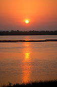 Ilha do Bananal, Tocantins State, Brazil.  Sunrise.