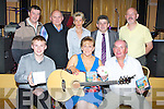 "CD: A great night for Noreen Ashe who launched her CD "" Wakltzing Thro' Ireland"" on Friday evening as fellow musicians came to wish her well, Front l-rL Danny O'Leary, Noreen Ashe and Dermot Moriarty. Back l-r: Johnny Ashe, Mike Condon, Mary O'Leary,Eddie Lee and Ronnie Ryan."