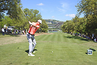Ross Fisher (ENG) on the 12th during the 2nd round at the WGC Dell Technologies Matchplay championship, Austin Country Club, Austin, Texas, USA. 23/03/2017.<br /> Picture: Golffile | Fran Caffrey<br /> <br /> <br /> All photo usage must carry mandatory copyright credit (&copy; Golffile | Fran Caffrey)