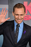 Tom Hiddleston at the premiere for &quot;Kong: Skull Island&quot; at Dolby Theatre, Los Angeles, USA 08 March  2017<br /> Picture: Paul Smith/Featureflash/SilverHub 0208 004 5359 sales@silverhubmedia.com