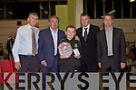 Awards night for Listowel Celtic Soccer Schoolboys/girls were held in St. Michaels College Listowel on Thursday night..Paddy Mulvihill, Ray Houghton, Eddie O'Donovan, Aidan O'Connor, Mikey Kelligher.