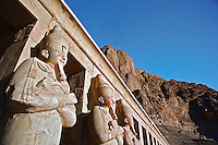Mortuary Temple of Queen Hatshepsut (Deir Al-Bahri), West Bank of the Nile Valley, Luxor, Egypt