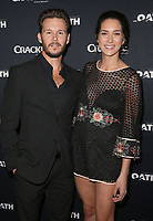 07 March 2018 - Culver City, California - Ryan Kwanten and Ashley Sisino. &quot;The Oath&quot; TV Series Los Angeles Premiere held at Sony Pictures Studios.   <br /> CAP/ADM/FS<br /> &copy;FS/ADM/Capital Pictures