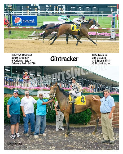 Gintracker winning at Delaware Park on 7/2/16