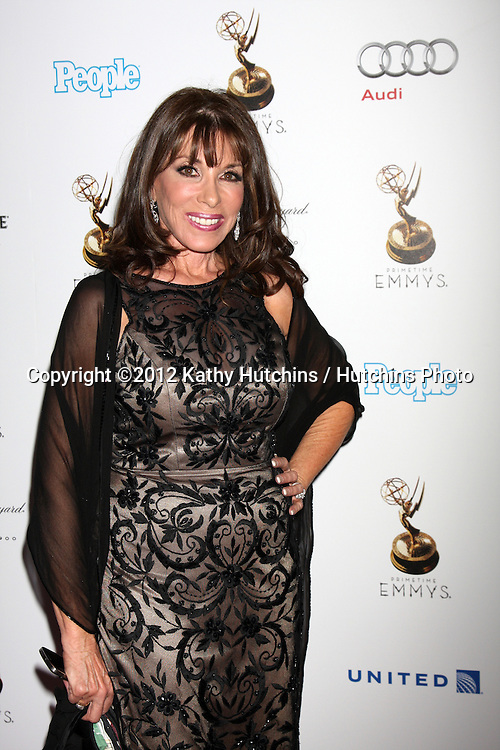 LOS ANGELES - SEP 21:  Kate Linder arrives at the Primetime Emmys Performers Nominee Reception at Spectra by Wolfgang Puck on September 21, 2012 in Los Angeles, CA