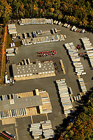 Charlotte aerial photography - October 2010 - of trucking / distribution operations in Charlotte / Mecklenburg County.