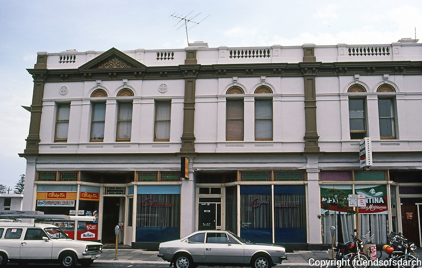Fremantle: Buildings along High St. (?)  Photo '82.