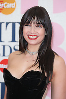 Daisy Lowe arriving at The Brit Awards 2015 (Brits) held at the O2 - Arrivals, London. 25/02/2015 Picture by: James Smith / Featureflash