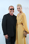 (L-R) Michael Kors, Poppy Delevingne, <br /> Nov 20, 2015 : <br /> Poppy Delevingne and Designer Michael Kors <br /> attend the Michael Kors store event in Tokyo, Japan on November 20, 2015.<br /> American luxury brand opened its largest flagship store in Tokyo's renowned Ginza district. (Photo by Yohei Osada/AFLO)