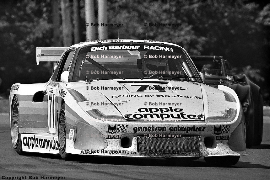 WATKINS GLEN, NY - JULY 5: Bobby Rahal drives the Porsche 935 K3 009 00030 during the Six Hours of Watkins Glen on July 5, 1980, at Watkins Glen International near Watkins Glen, New York.