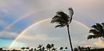 Rainbow, early morning, Kihei, Maui
