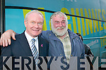 Ted Brosnan Killarney welcomes Martin McGuinness on his Presidential campaign walkabout in Killarney on Wednesday
