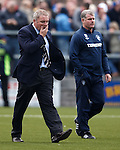 Ally McCoist raging as he walks off the park