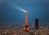 Paris Aerial Photography