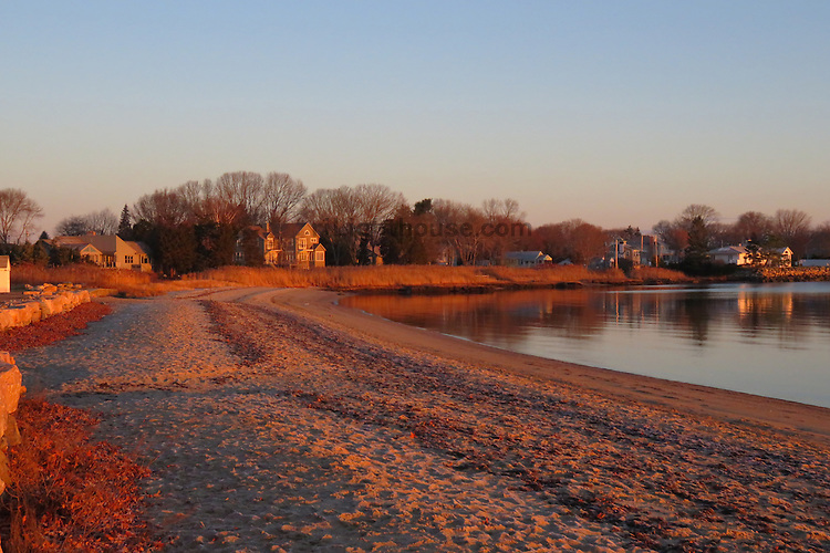 Sunrise at the North Kingstown Town Beach