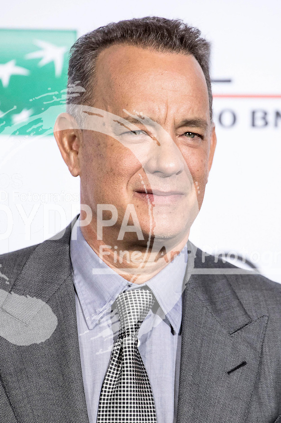 Tom Hanks beim Photocall zum 'Close Encounters' Event auf dem 11. Internationalen Filmfestival von Rom / Festa del Cinema di Roma 2016 im Auditorium Parco della Musica. Rom, 13.10.2016