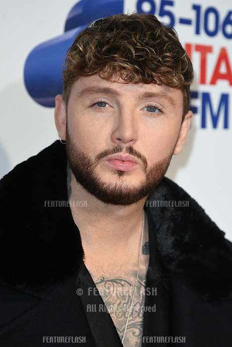 LONDON, UK. December 08, 2018: James Arthur at Capital&rsquo;s Jingle Bell Ball 2018 with Coca-Cola, O2 Arena, London.<br /> Picture: Steve Vas/Featureflash