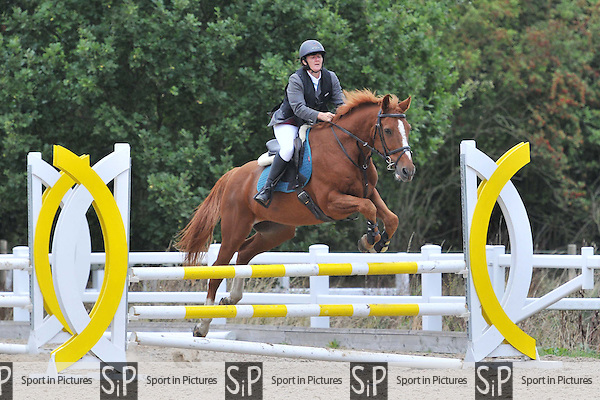 Class 1. British Showjumping (BS) Seniors. Brook Farm Training Centre. Essex. 01/10/2016. MANDATORY Credit Ellen Szalai/Sportinpictures - NO UNAUTHORISED USE - 07837 394578