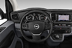 Car pictures of steering wheel view of a 2020 Opel Vivaro Innovation 4 Door Cargo Van