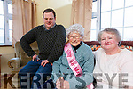 Johanna Griffiin from The Revenue, Valentia celebrated her century plus two birthday on Friday, pictured here with her grandson Conor Cahill & daughter Christine Cahill.