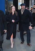 NEW YORK, NY March 06, 2018: Chelsea Clinton at Good Morning America  to talk about new children's book She Persisted 13 American Women who Changed the World  in New York. March 06, 2018 <br /> CAP/MPI/RW<br /> &copy;RW/MPI/Capital Pictures