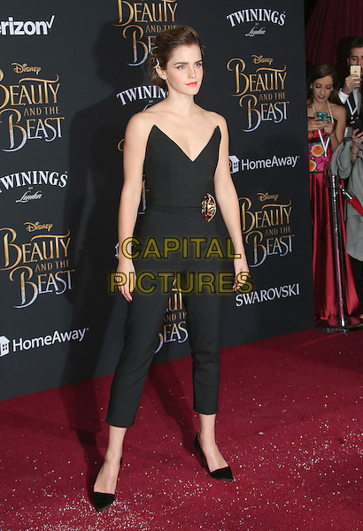 02 March 2017 - Hollywood, California - Emma Watson. Disney's &quot;Beauty and the Beast' World Premiere held at El Capitan Theatre.   <br /> CAP/ADM/FS<br /> &copy;FS/ADM/Capital Pictures