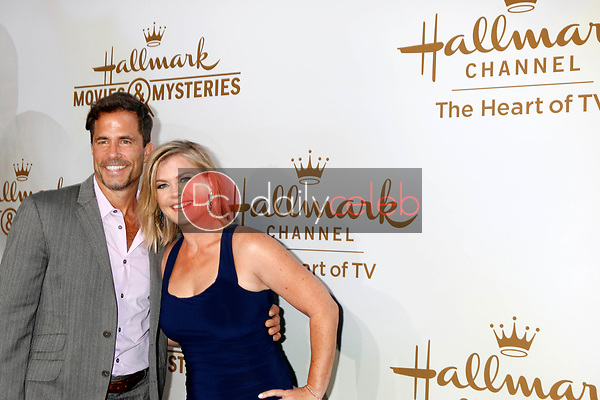 Shawn Christian, Alison Sweeney<br /> at the Hallmark TCA Summer 2017 Party, Private Residence, Beverly Hills, CA 07-27-17<br /> David Edwards/DailyCeleb.com 818-249-4998