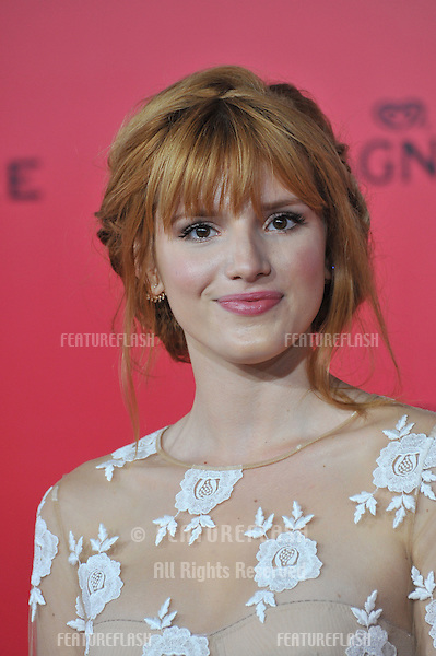 Bella Thorne at the US premiere of &quot;The Hunger Games: Catching Fire&quot; at the Nokia Theatre LA Live.<br /> November 18, 2013  Los Angeles, CA<br /> Picture: Paul Smith / Featureflash