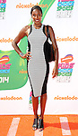 Lisa Leslie arriving at the Nickelodeon's Kids Choice Sports Awards 2014 held at The UCLA Pauley Pavilion Los Angeles, CA. July 17, 2014.