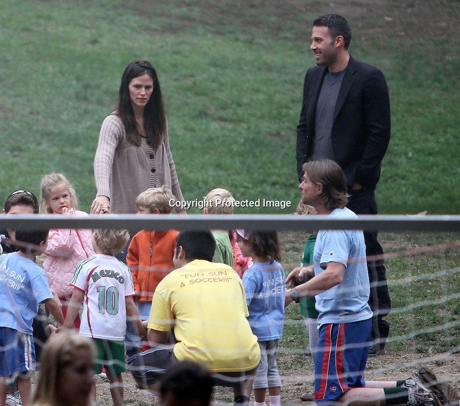 September 18th 2010  Saturday ...Jennifer Garner & Ben Affleck took there kids to a local park in Los Angeles. The kids played on the Swings jungle gym slide & played soccer. Ben was holding hands hugging carrying the kids with the assistance of the local police department. Violet & Seraphina Rose Elizabeth were laughing & smiling while chasing the other kids around. ...AbilityFilms@yahoo.com.805-427-3519.www.AbilityFilms.com