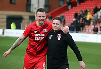 O's Ross Embleton & Josh Coulson(right) during Leyton Orient vs Cambridge United, Sky Bet EFL League 2 Football at The Breyer Group Stadium on 7th March 2020