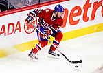 7 December 2009: Montreal Canadiens' defenseman Josh Gorges in action against the Philadelphia Flyers at the Bell Centre in Montreal, Quebec, Canada. The Canadiens rallied, and defeated the Flyers 3-1. Mandatory Credit: Ed Wolfstein Photo