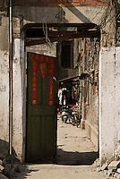 Doorway, Shanghai, China