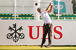 Chiragh Kumar of India tees off the first hole during the 58th UBS Hong Kong Open as part of the European Tour on 08 December 2016, at the Hong Kong Golf Club, Fanling, Hong Kong, China. Photo by Marcio Rodrigo Machado / Power Sport Images