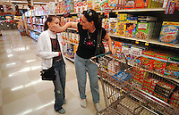 Cristina and her mother, Cindi Hofer, shop for groceries in preperation of their big trip to Nothern California for an E.B. camp called Camp Wonder. Jamie Scott Lytle Photography