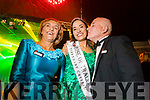 Sinéad Flanagan, Limerick, 2019 Rose of Tralee celebrates with her parents in Denny Street on Tuesday night.