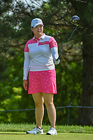 Angel Yin (USA) looks over her tee shot on 2 during round 4 of the 2018 KPMG Women's PGA Championship, Kemper Lakes Golf Club, at Kildeer, Illinois, USA. 7/1/2018.<br /> Picture: Golffile | Ken Murray<br /> <br /> All photo usage must carry mandatory copyright credit (&copy; Golffile | Ken Murray)