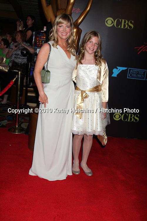 Maria Arena Bell & Daughter Sabrina.arrives at the 2010 Daytime Emmy Awards .Las Vegas Hilton Hotel & Casino.Las Vegas, NV.June 27, 2010.©2010 Kathy Hutchins / Hutchins Photo....
