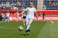 Bridgeview, IL - Saturday May 27, 2017: Mary Luba during a regular season National Women's Soccer League (NWSL) match between the Chicago Red Stars and the North Carolina Courage at Toyota Park. The Red Stars won 3-2.
