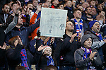 Rangers fans salute their heroes at full-time