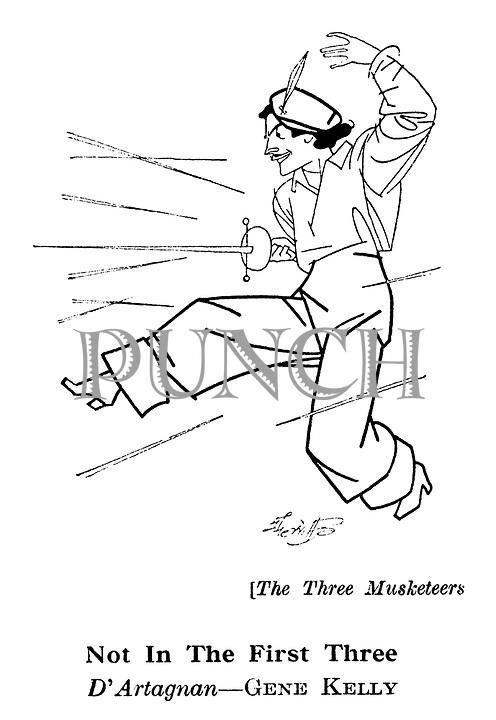 The Three Musketeers ; Gene Kelly