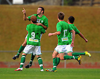 110306 ASB Premiership Football - Team Wellington v Youngheart Manawatu
